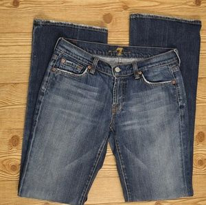 7 for All Mankind Bootcut Jeans 28 x 33
